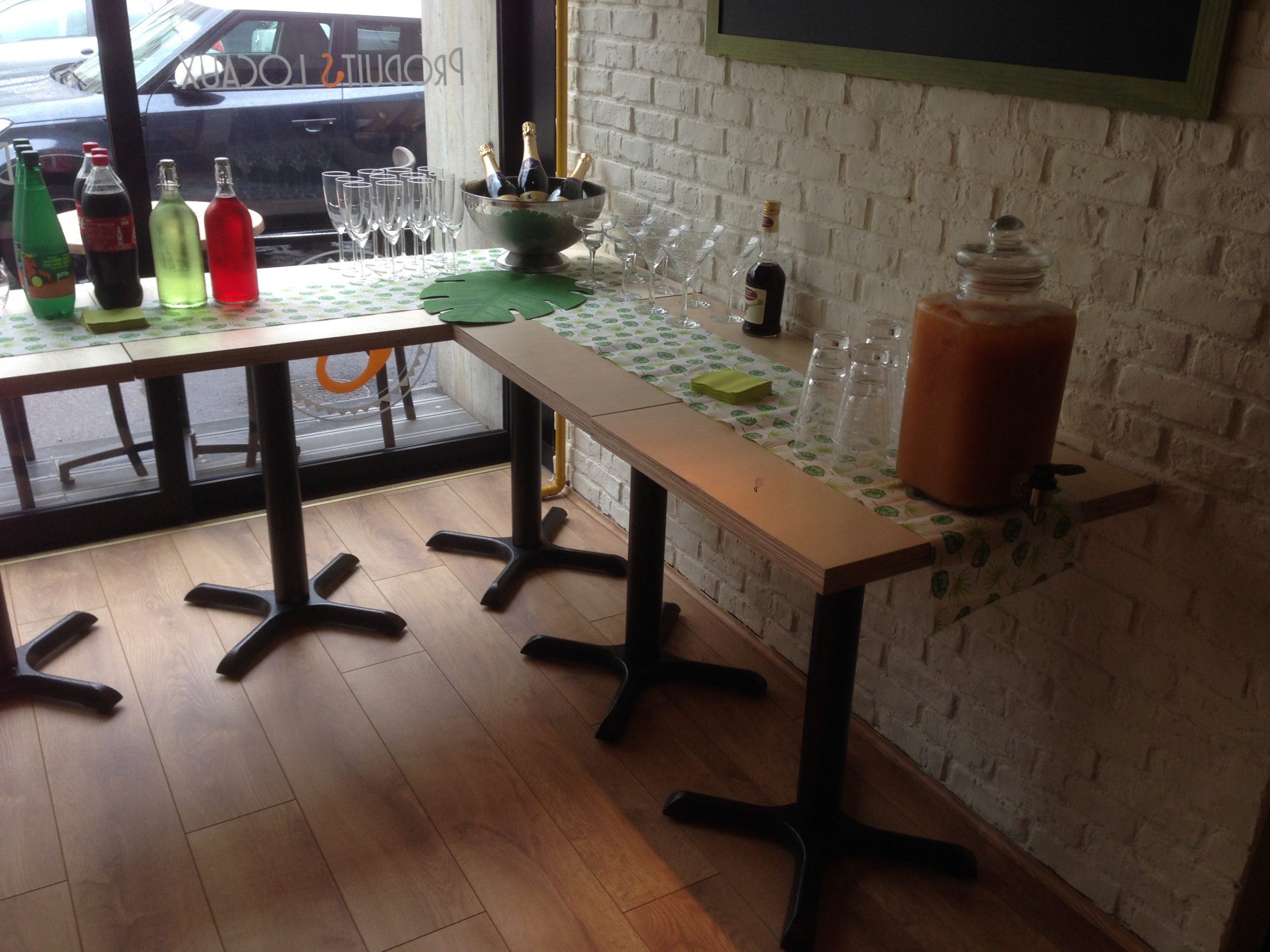 Tables regroupées